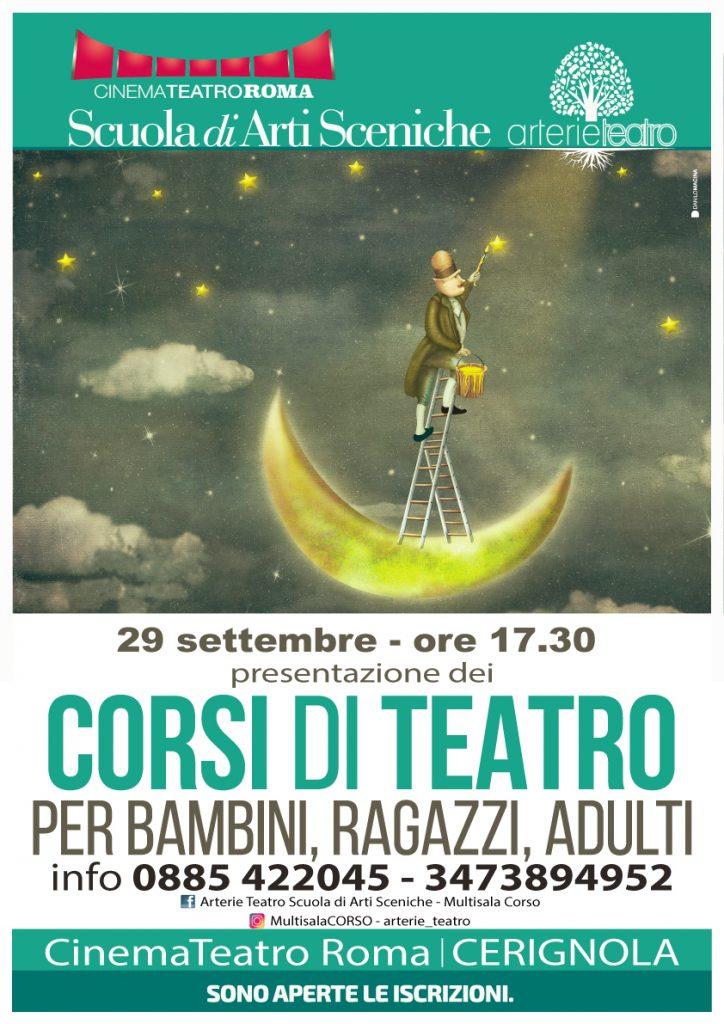 Corsi di Teatro a Cerignola Arterie Teatro Cinema Teatro Roma