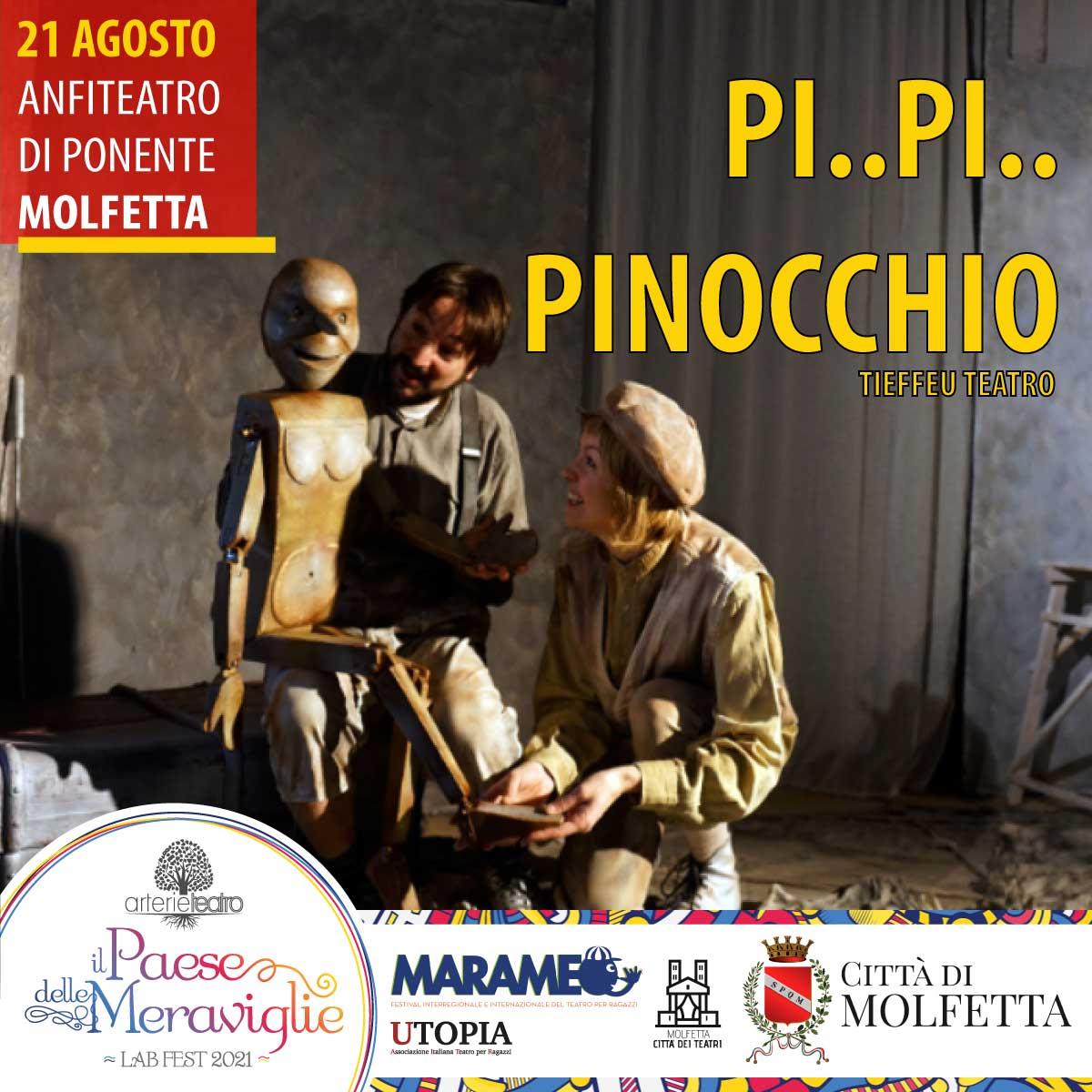 Il Paese delle Meraviglie 2021 - Pi..Pi..Pinocchio