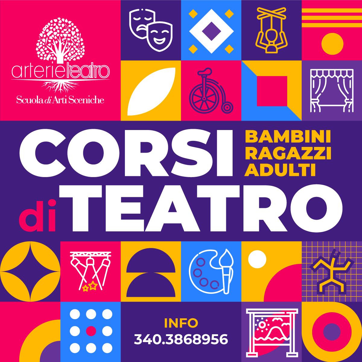 Scuola di Arti Sceniche Arterie Teatro - Corsi di Teatro a Molfetta e Cerignola